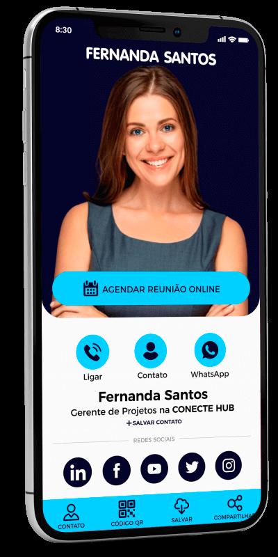 Cartão de Visita Digital NFC
