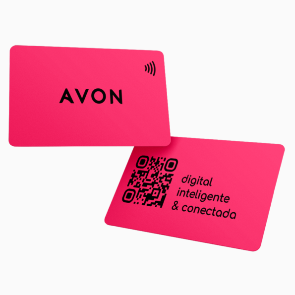 Cartão Digital NFC AVON